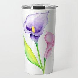 Calla Lilies Travel Mug