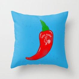 Chilli Sauce Throw Pillow