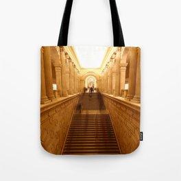 progressive disclosure Tote Bag