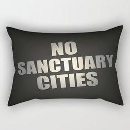 No Sanctuary Cities Rectangular Pillow