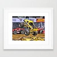 titan Framed Art Prints featuring Titan by PixByNancy