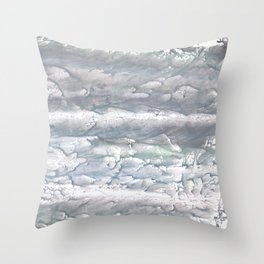 Gray abstract Throw Pillow