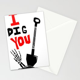 "I ""DIG"" You Stationery Cards"