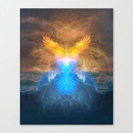 Phoenix Rising - 3rd Annual HeART & SOULstice Gathering  Canvas Print