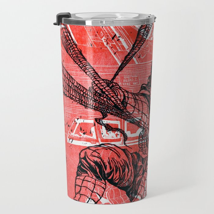 Spins a web any size Travel Mug