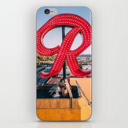 "Rainier ""R"" iPhone Skin"