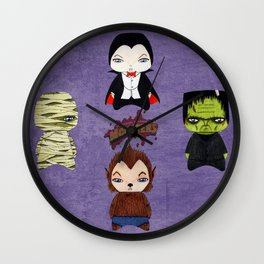 A Boy - Universal Monsters Wall Clock