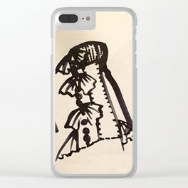 INK CROQUIS Clear iPhone Case