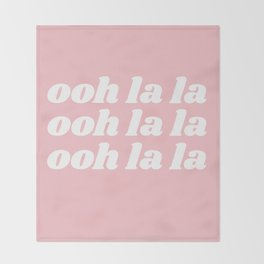 ooh la la Throw Blanket