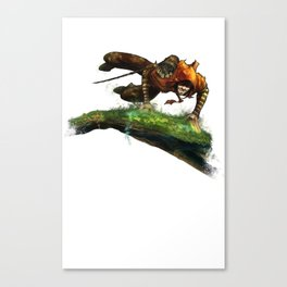 Berenn Jumping Canvas Print