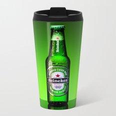 Ice cold Heineken Metal Travel Mug