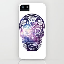 Mexican Skull Space V2 iPhone Case
