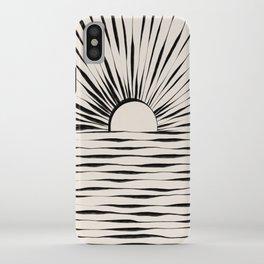 Minimal Sunrise / Sunset iPhone Case