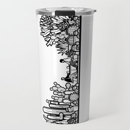 Chai and Cacti III Travel Mug