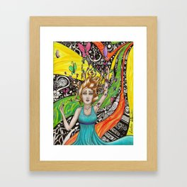 What Dreams Are Made Of Framed Art Print