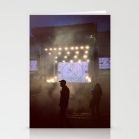 concert Stationery Cards featuring concert by petervirth photography
