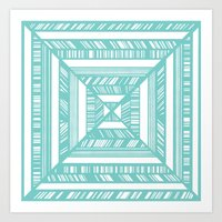 frames Art Prints featuring Frames by • Amanda Khoo •