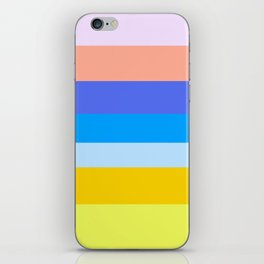 Summer Pastels iPhone Skin