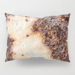 Cool brown rusty metal texture Pillow Sham