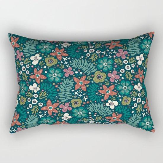Secret Meadow Rectangular Pillow