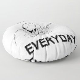Funny Bust Clays Everyday Gun Lover product Floor Pillow