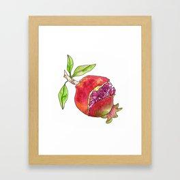 jeweled pomegranate Framed Art Print