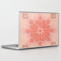 snowflake Laptop & iPad Skins featuring Snowflake by Siddika