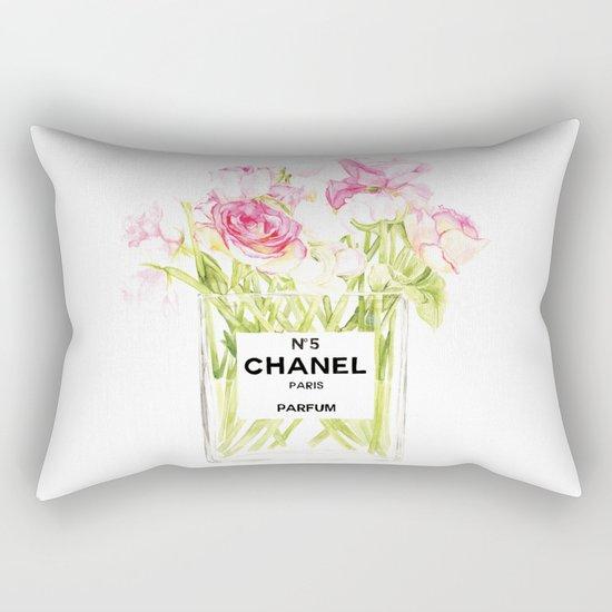PERFUME FLORAL No.5 Rectangular Pillow