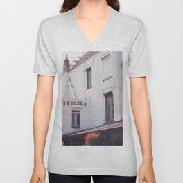 Clogs on the Wall Unisex V-Neck