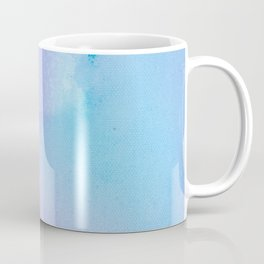 Philip Bowman Abstract Watercolor Art Blue And Purple Modern Painting Coffee Mug