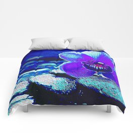 Spreckled Orchid Comforters