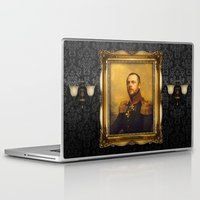 replaceface Laptop & iPad Skins featuring Simon Pegg - replaceface by replaceface