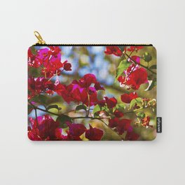 Bougainvillea I Carry-All Pouch