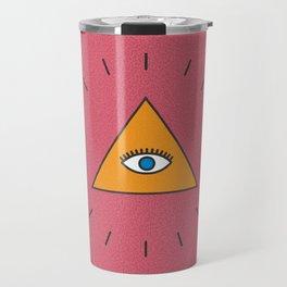 All Seeing Eye Travel Mug