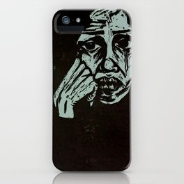 Refugee Woman iPhone Case