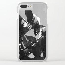 Flowers II Clear iPhone Case