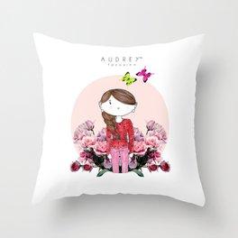 Audrey SIRI III Throw Pillow