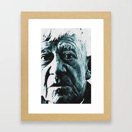 Portrait Oskar Kokoschka Framed Art Print