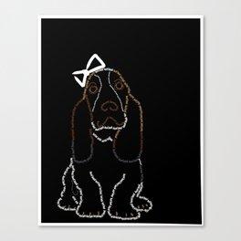 Basset Hound Canvas Print