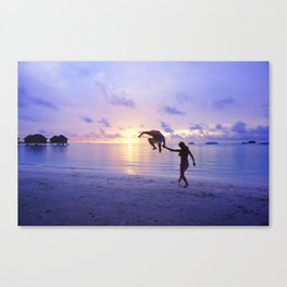 human balloon PNG Canvas Print