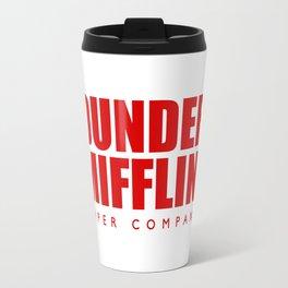 Dunder Mifflin Logo Travel Mug