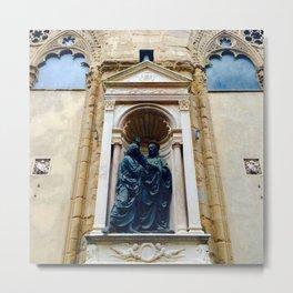 Christ and Saint Thomas Metal Print