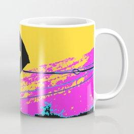 Free Falling - Stunt Scooter Rider Coffee Mug