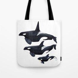 Orca (Orcinus orca) Tote Bag