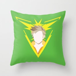 Team Instinct leader - Spark Throw Pillow