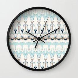 Moroccan Modern Pattern Mix Wall Clock