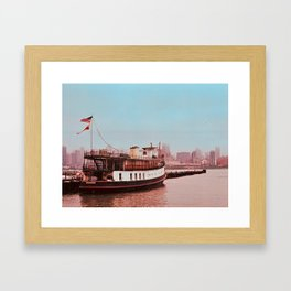 Home on the Water Framed Art Print
