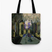 yolo Tote Bags featuring YOLO by MICKEY FICKEY GALLERY