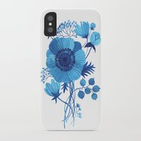 oana befort iPhone & iPod Cases featuring BLUES by Oana Befort