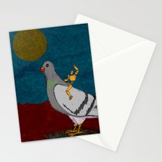 Pigeon Rodeo Stationery Cards